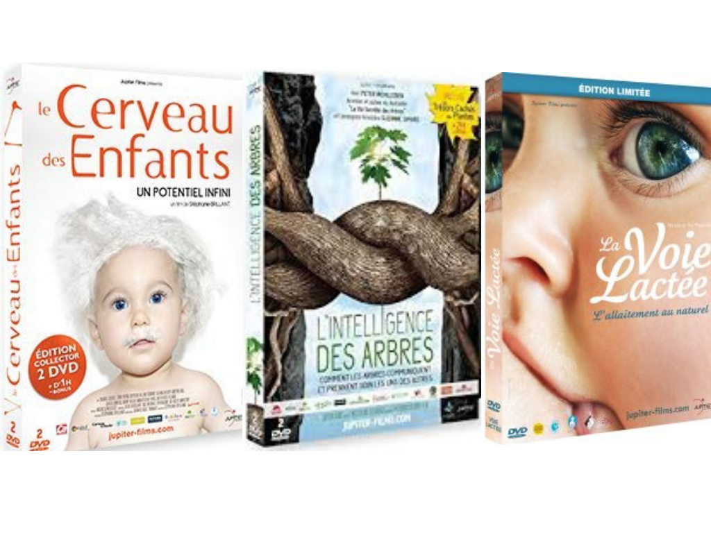 Des DVD qui promeuvent nos valeurs à acheter pour nous soutenir (bienveillance, nature, confiance)